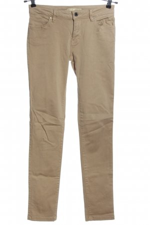 Zara Low-Rise Trousers natural white casual look