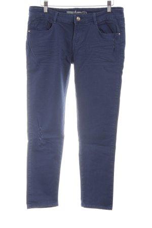 Zara Hüfthose blau Casual-Look