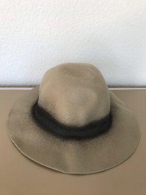 Zara Felt Hat light brown