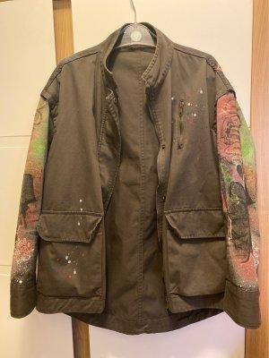 Zara Military Jacket khaki
