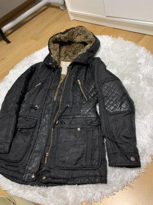Zara Long Jacket black