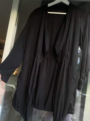 Zara Giacca lunga nero