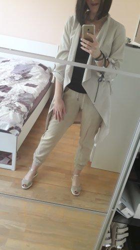 ZARA Jacke/Blazer, Größe L, Grau