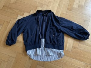 Zara Basic Blusón azul oscuro