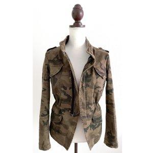 Zara Veste militaire multicolore