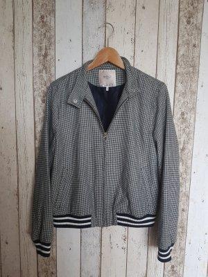 Zara | Jacke | College | Gr. 38/40/42 | Schwarz/Weiß | Gr. M/L | Muster | Esprit Style