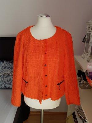 Zara Basic Kurtka przejściowa pomarańczowy-pomarańczowy neonowy