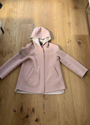 Zara Giacca con cappuccio rosa pallido-rosa antico