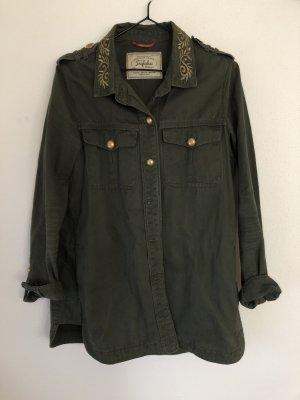 Zara Jacke Khaki grün M 38