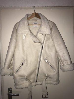 Zara Woman Kurtka zimowa biały