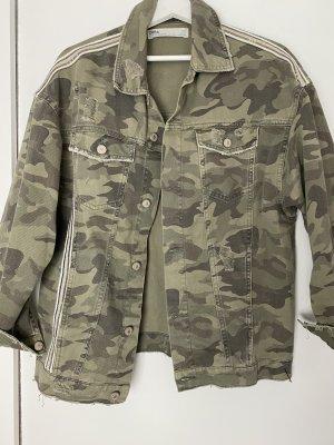 ZARA Jacke Military | Gr. S/36 | Olive