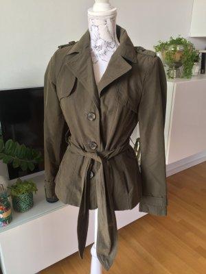 Zara Military Jacket green grey-khaki