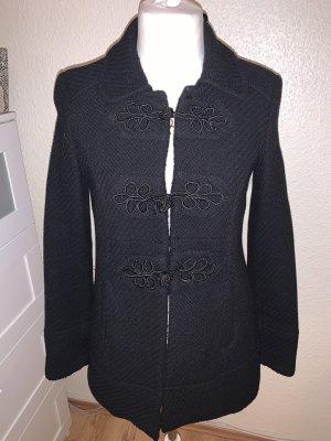 Zara Trafaluc Chaqueta de lana negro