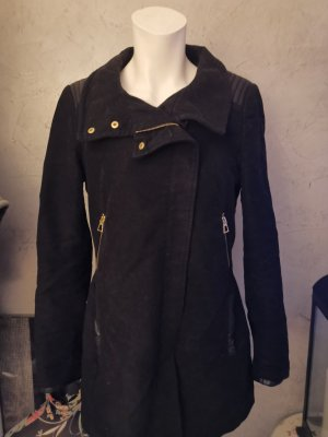 Zara Jacke warm schwarz Gr S