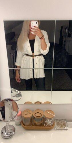 Zara Oversized Jacket white