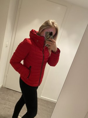 Zara Jacke Winterjacke Rot S