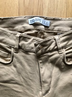 ZARA Jeans 36 beige camel