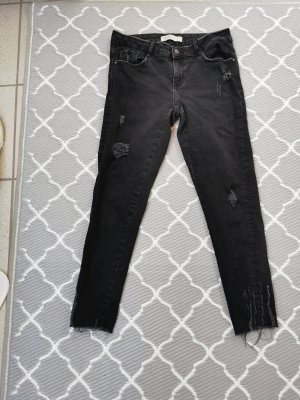 Zara Jeans skinny gris anthracite
