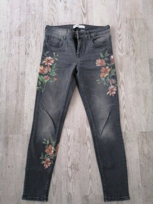 Zara Jeans skinny grigio