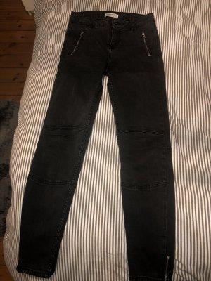 Zara Spodnie z pięcioma kieszeniami Wielokolorowy