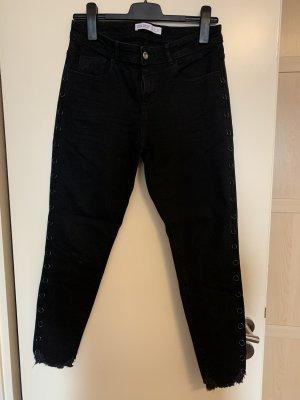 Zara Vaquero elásticos negro