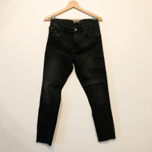 Zara Carrot Jeans black
