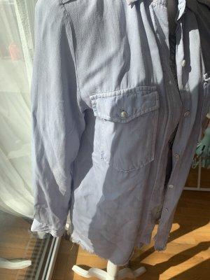ZARA Jeans Bluse mit Perlen