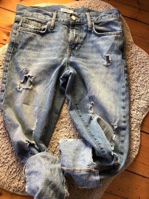 Zara Jeans Boyfriend zerissen 34