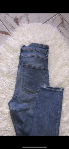 Zara Slim Jeans cornflower blue-slate-gray