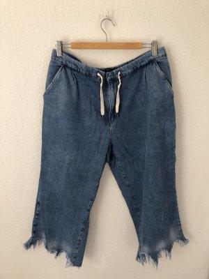 Zara Baggy jeans blauw-azuur