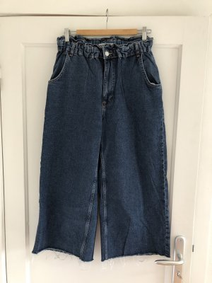 Zara 7/8 Length Jeans blue-dark blue