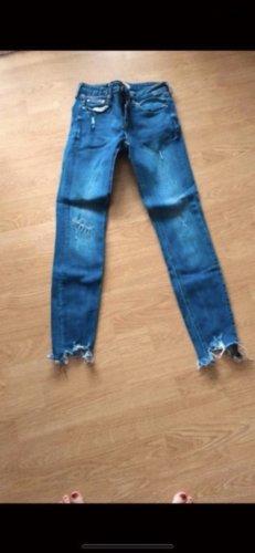 Zara jeans destroyed