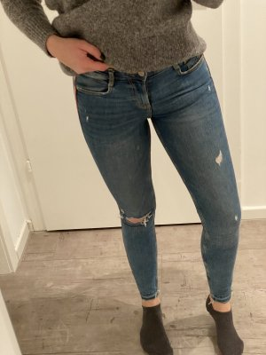 Zara Jeans Destroyed Jeans 36 S