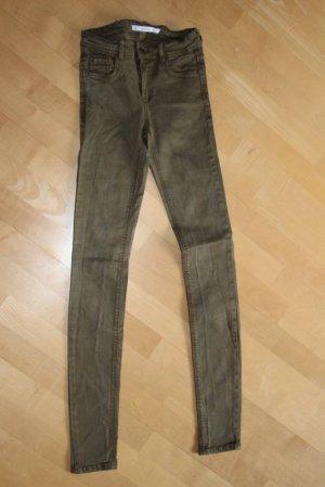 ZARA Jeans  Gr. 32 oliv
