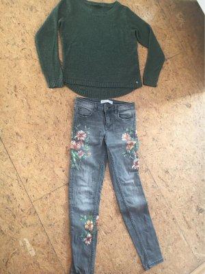 Zara Jeans Gr. 34 und Only Pulli Gr M