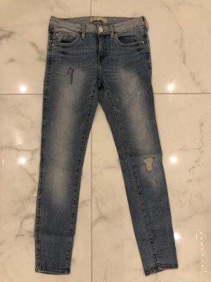 ZARA Jeans Gr. 36 hellblau wie neu Röhrenjeans