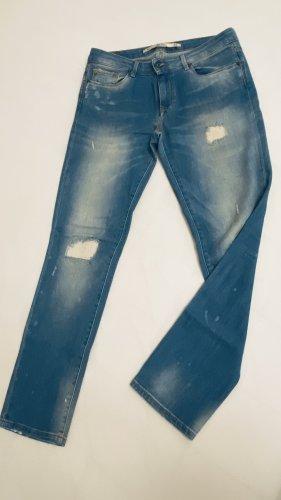 Zara Jeans boyfriend bleuet