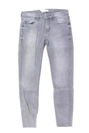Zara Jeans grau Größe 34