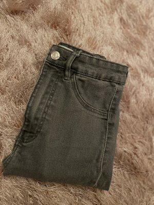 Zara Jeans Grau Skinny