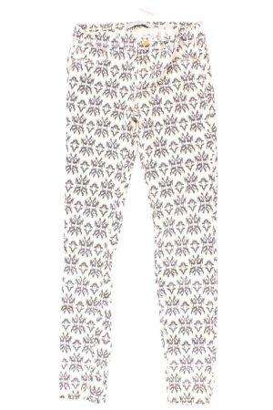 Zara Jeans Größe 34 creme aus Baumwolle