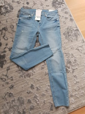 zara jeans hell blau 44 neu