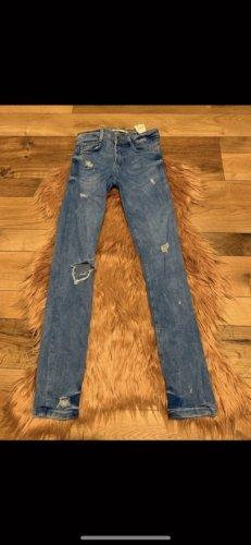 ZARA Jeans hell blau neu