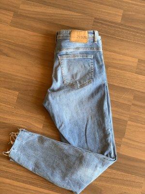 ZARA Jeans  hellgrau