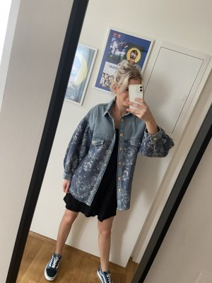 Zara Jeans Hemd Shacket