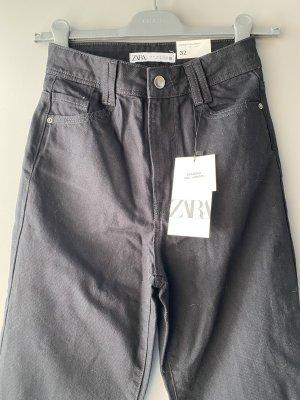 Zara Jeans Hig Waist, Straight Leg