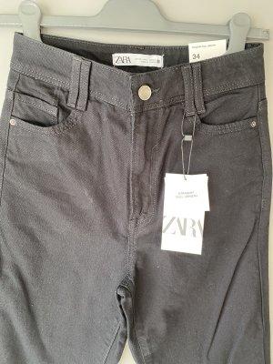 Zara Jeans High Waist, Straight Leg