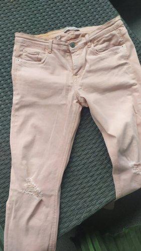 Zara Vaquero elásticos rosa