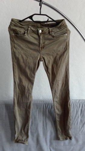 Zara Jeans a 7/8 multicolore Cotone