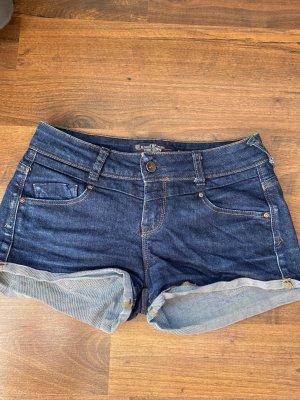 Zara Shorts blu scuro-blu