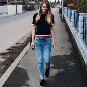 Zara Jeans im used-Look